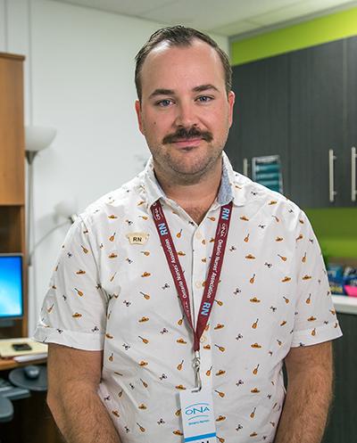 Public Health Nurse Eric Robertson, RN