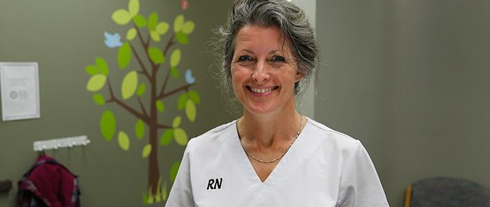 A proud Registered Nurse