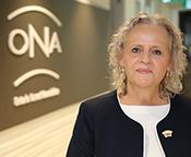 ONA President Vicki McKenna, RN