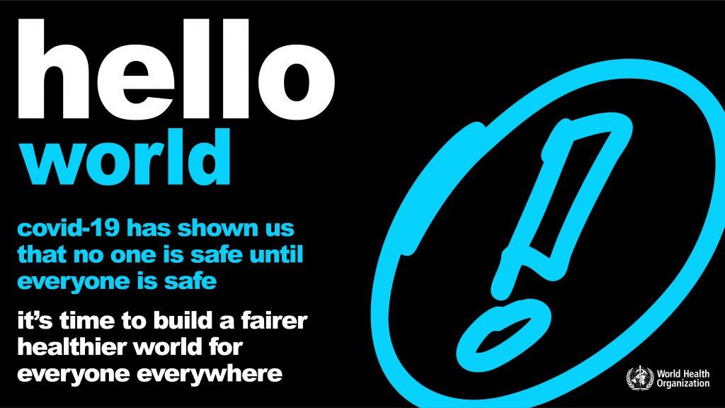 Twitter/LinkedIn World Health Day 2021 Shareable